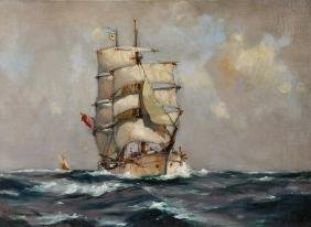 Manner of Thomas Jacques Somerscales (1842-1927)