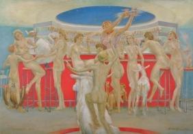 "Charles Robinson Sykes (1875-1950) British. ""Jupiter's"