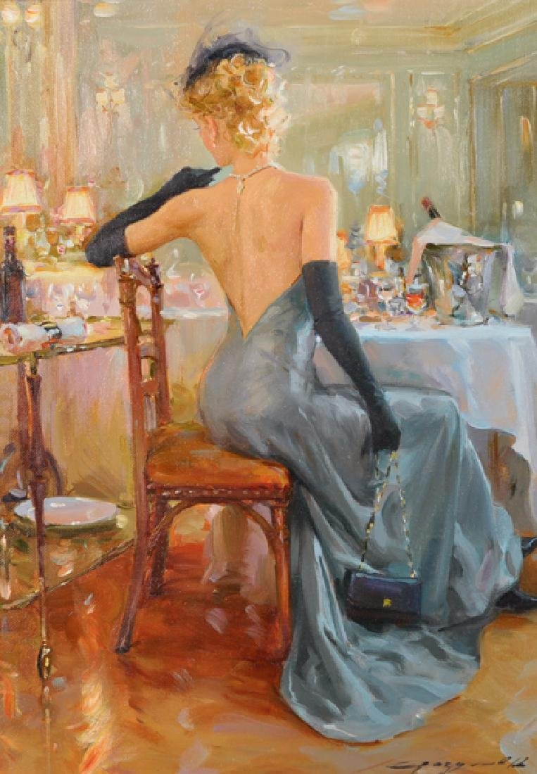 Konstantin Razumov 1974 Russian At The Ball