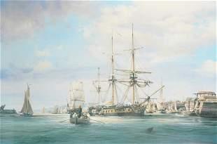 "Robert Taylor (20th Century) British. ""Hornblower and"