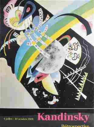 After Wassily Kandinski (1866-1944) Russian.