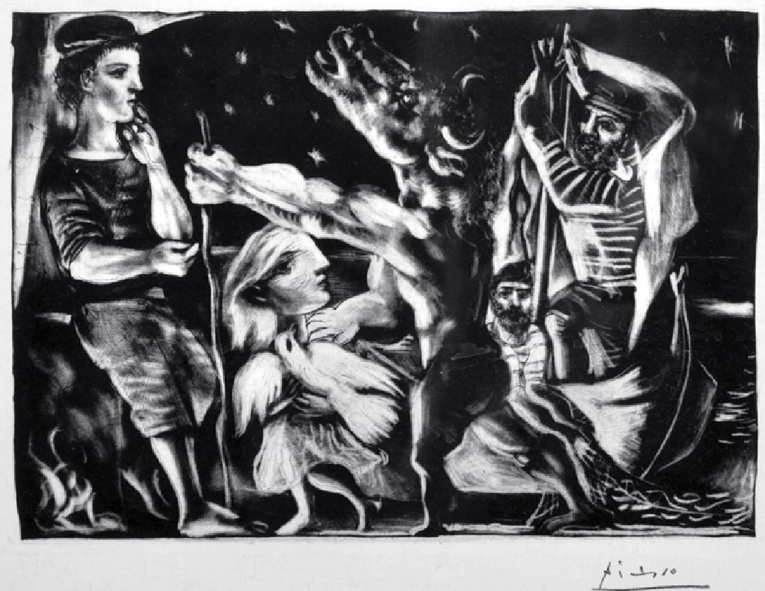 After Pablo Picasso (1881-1973) Spanish. 'Minotaur',
