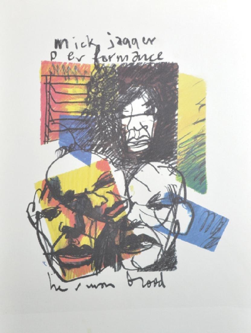 "Herman Brood (act.1964-2001) Dutch. ""Mick Jagger"","