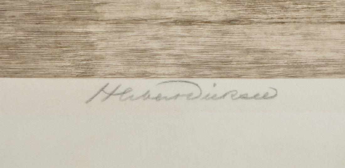 """Herbert Thomas Dicksee (1862-1942) British. """"Footsteps - 3"""