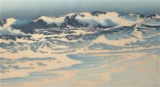 Oscar Droege 18981982 German Breaking Waves
