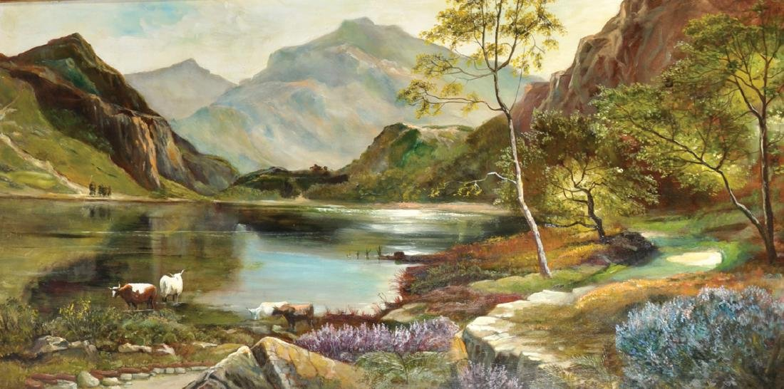 B... Cairow (20th Century) British. A Highland River