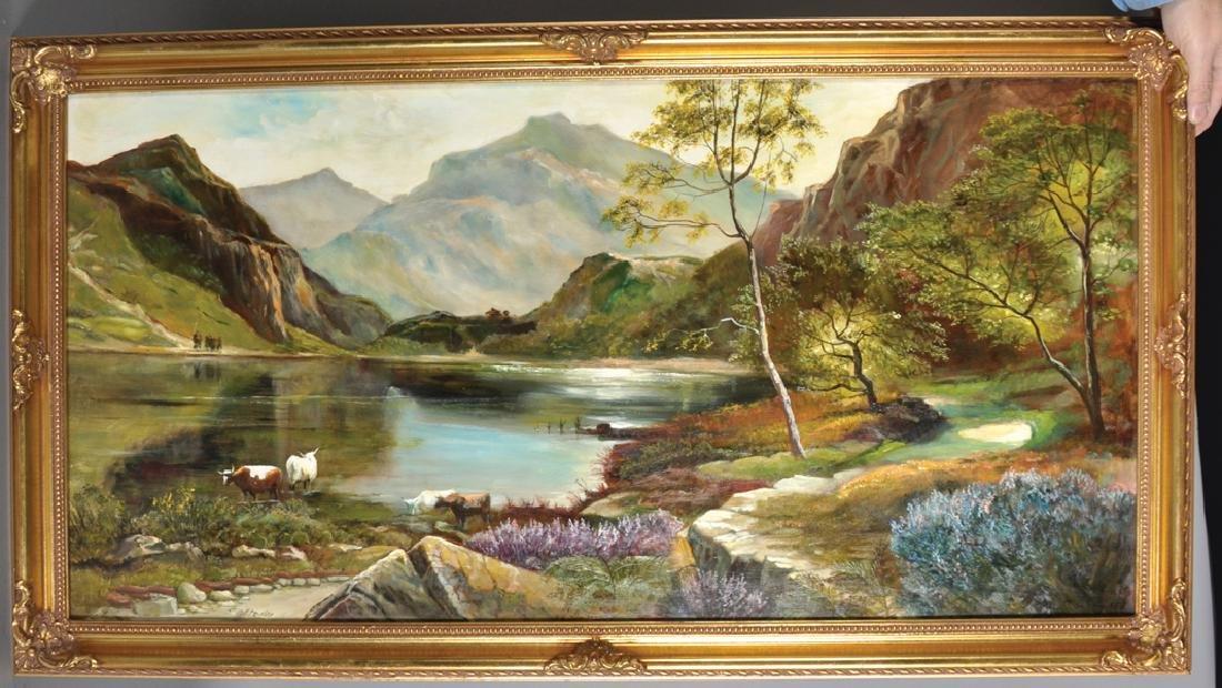 B... Cairow (20th Century) British. A Highland River - 2