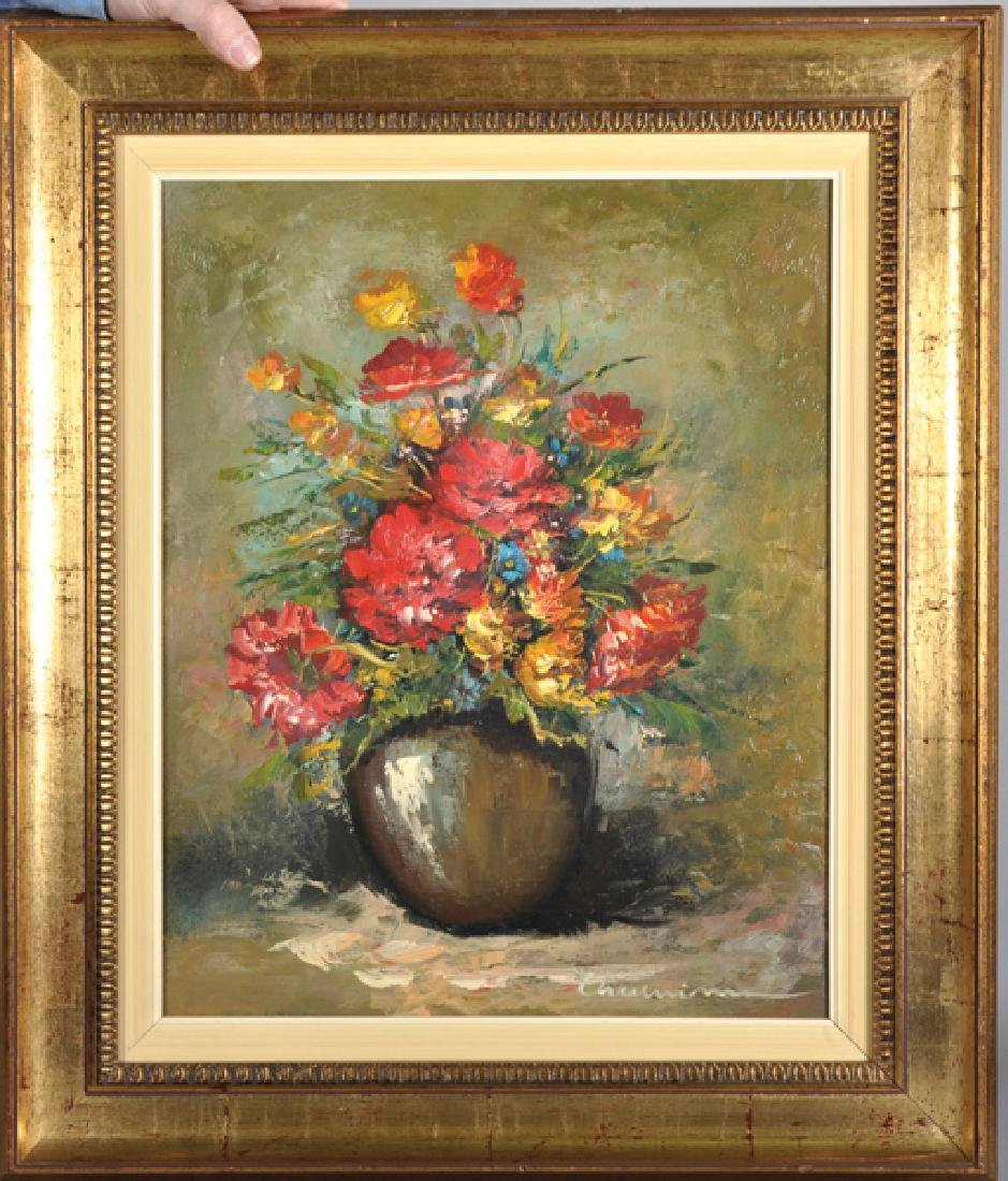 20th Century French School. Still Life of Flowers in a - 2