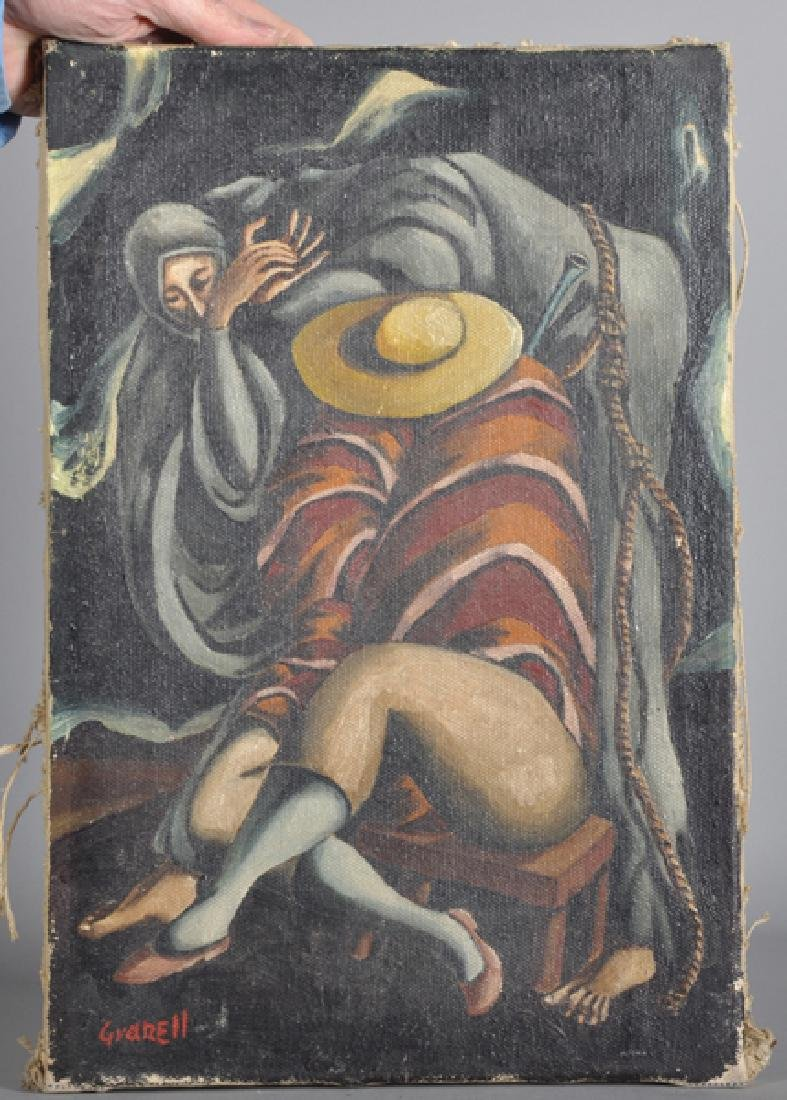 Granell (20th Century) Spanish. A Study of Figures, Oil - 2
