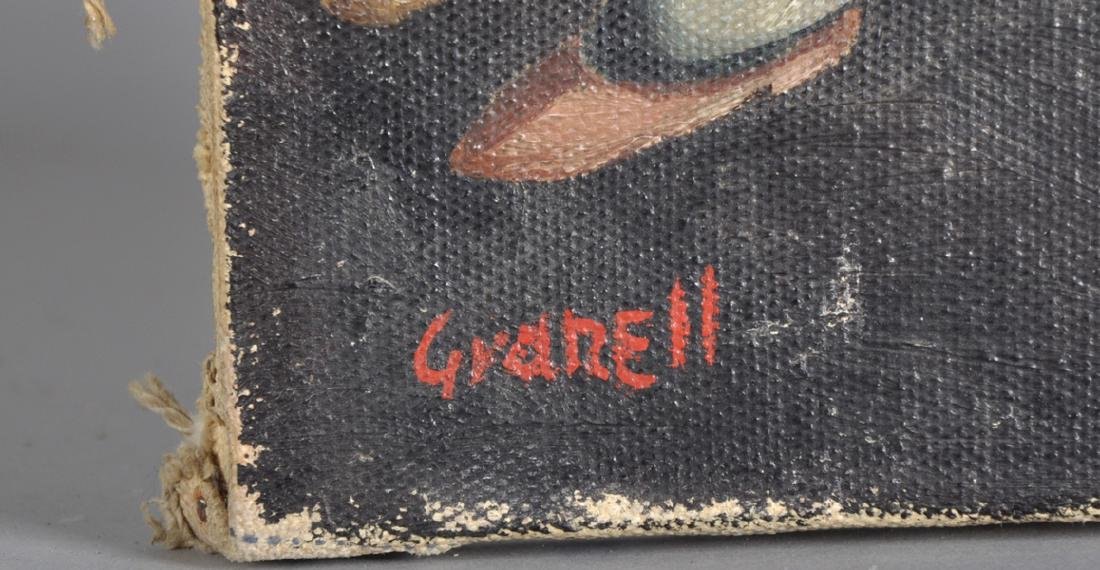 Granell (20th Century) Spanish. A Study of Figures, Oil - 3