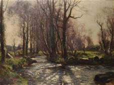"John Noble Barlow (1861-1917) British. ""The Stream,"