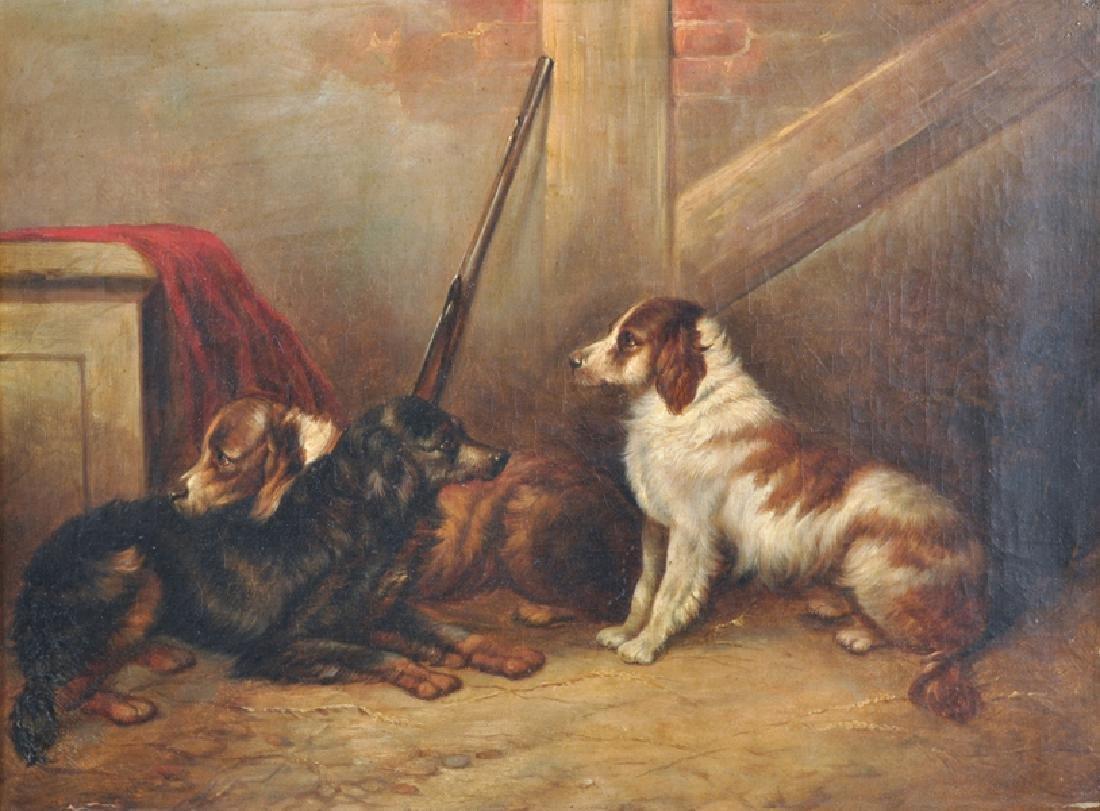 George Armfield (1808-1893) British. An Interior Scene