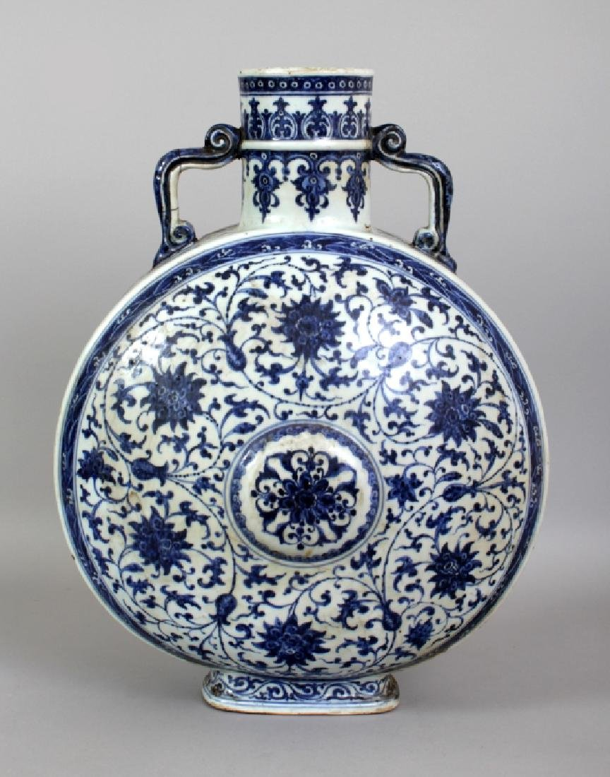 A VERY LARGE 18TH CENTURY CHINESE QIANLONG PERIOD MING - 3