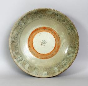 A LARGE 17TH/18TH CENTURY CHINESE PROVINCIAL PORCELAIN