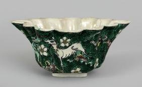 AN UNUSUAL LATE 17TH CENTURY CHINESE KANGXI PERIOD