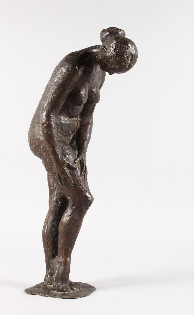 ATTRIBUTED ANDERS ZORN (1860-1920) SWEDISH  A bronze