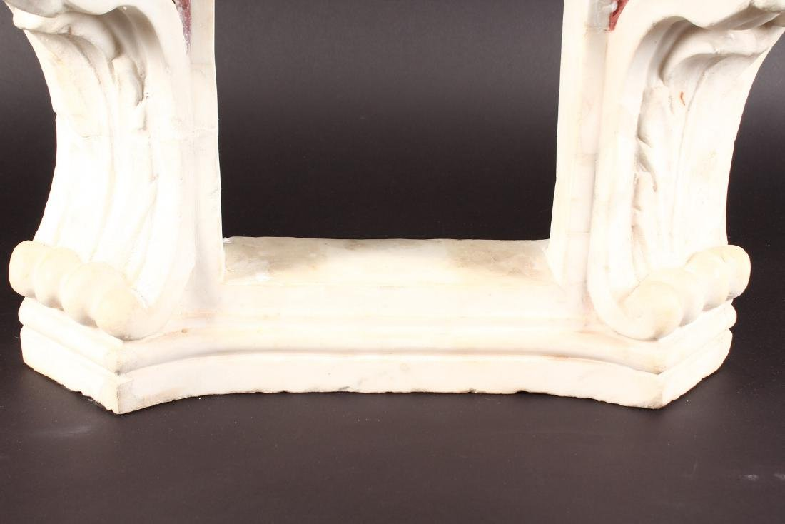 16TH-17TH CENTURY ITALIAN CARVED MARBLE NICHE - 6