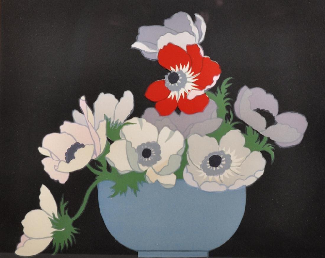 "John Hall Thorpe (1874-1947) Australian. ""Anemones"","