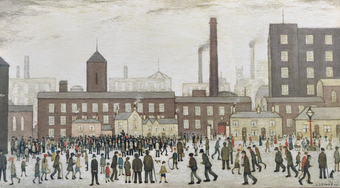 After Laurence Stephen Lowry (1887-1976) British. A
