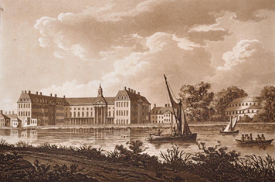 "19th Century English School. ""Chelsea College &"