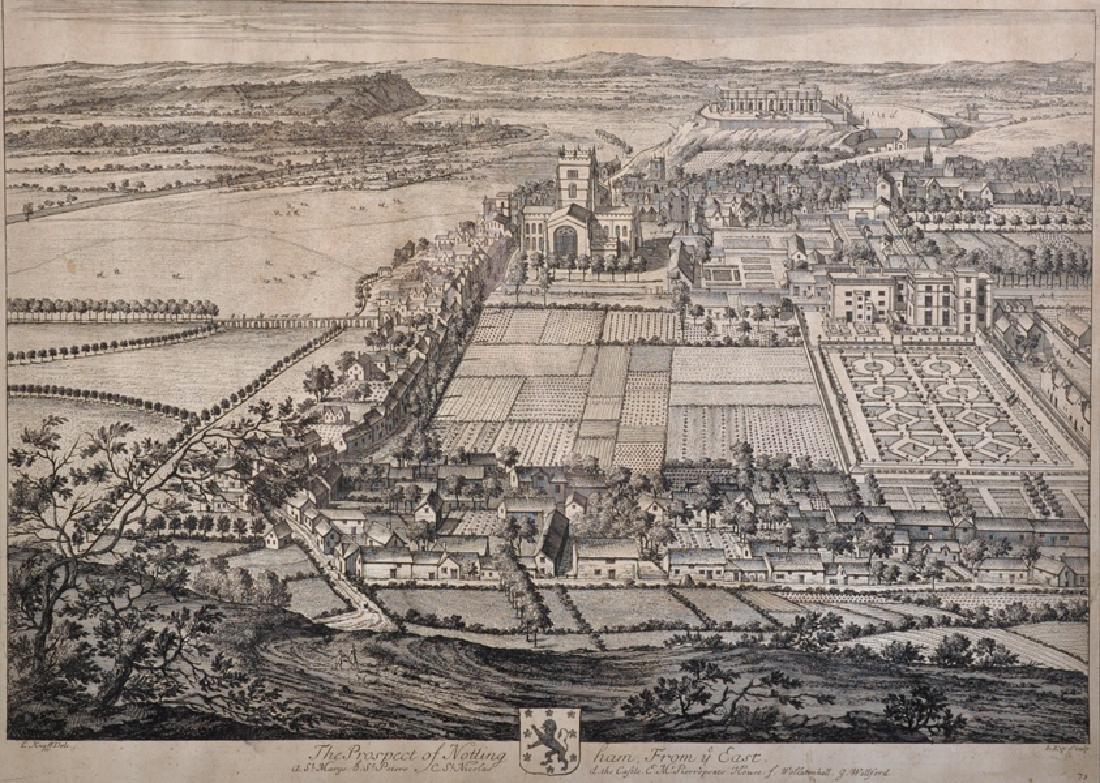 "Johannes Kip (c.1653-1722) Dutch. ""The Prospect of"