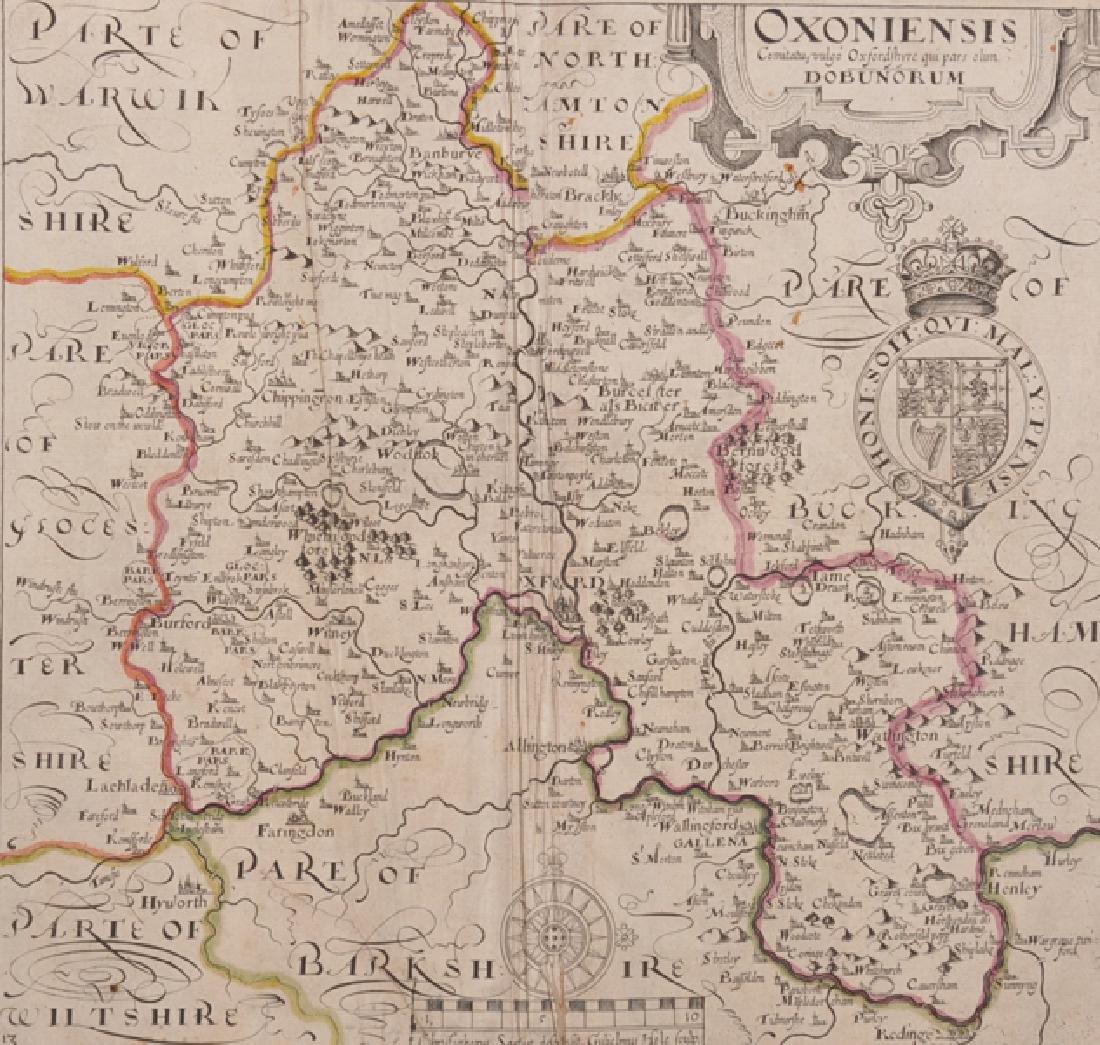 Christopher Saxton (16th - 17th Century) British.