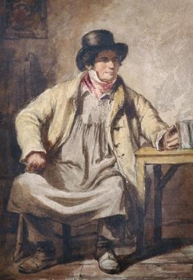 Circle of William Henry Hunt (1790-1864) British. Study