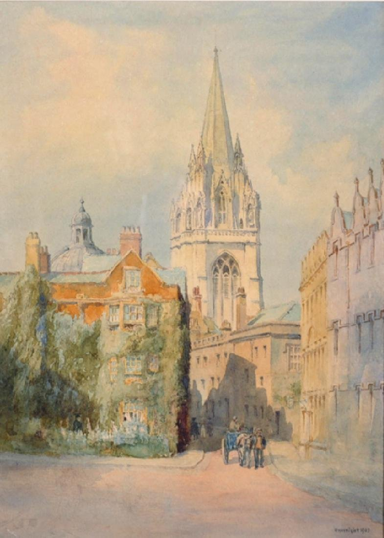 Richard Henry Wright (1857-1930) British. 'St Mary the