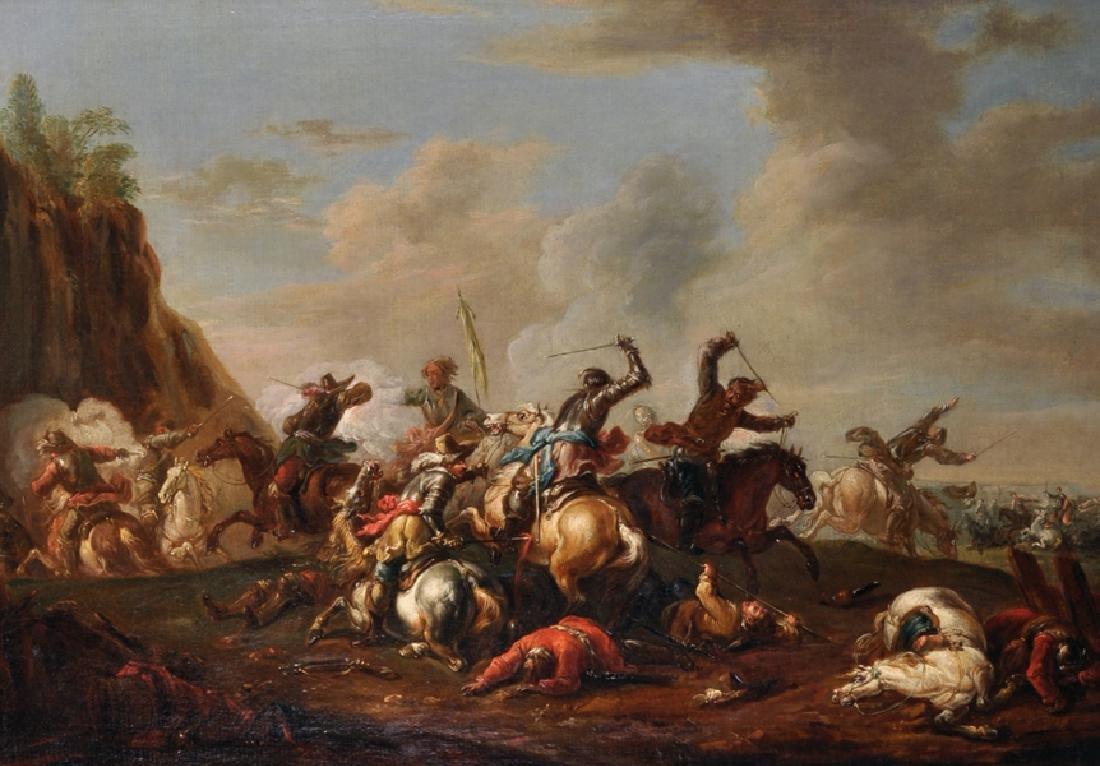 August Querfurt (1696-1761) Austrian. A Cavalry