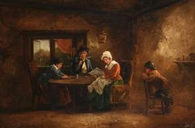 John Joseph Barker of Bath (1824-1904) British. A