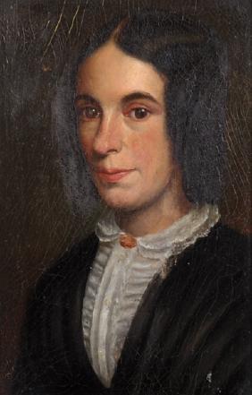 19th Century English School. Portrait of a Lady,
