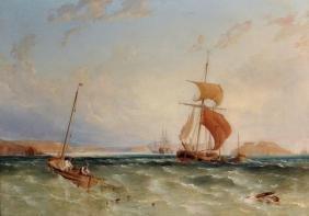 Anthony Vandyke Copley Fielding (1787-1855) British.