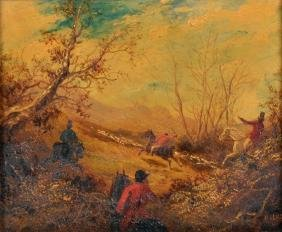 Circle of Henry Alken (1810-1894) British. A Hunting