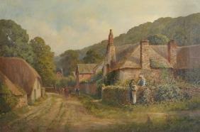 Charles Knight (19th - 20th Century) British.