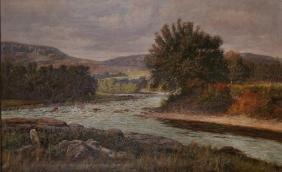 William Baptiste Baird (1847-1917) American. 'The River