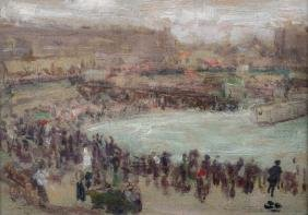 Arthur Haythorne Studd (1863-1919) British. A Beach
