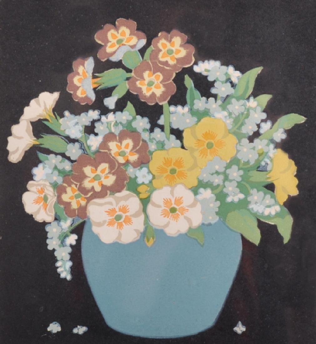 "John Hall Thorpe (1874-1947) Australian. ""Primulas and"