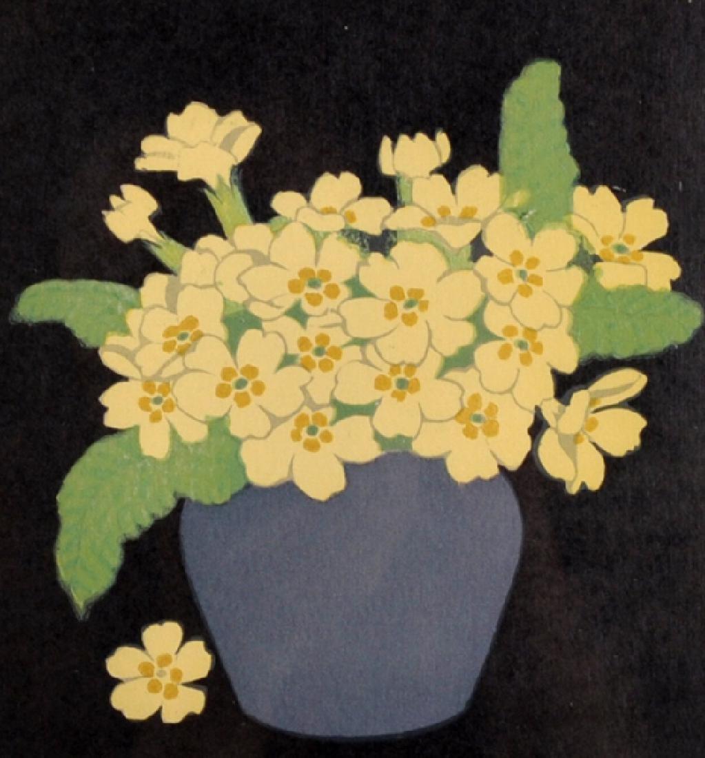 John Hall Thorpe (1874-1947) Australian. 'Primroses',