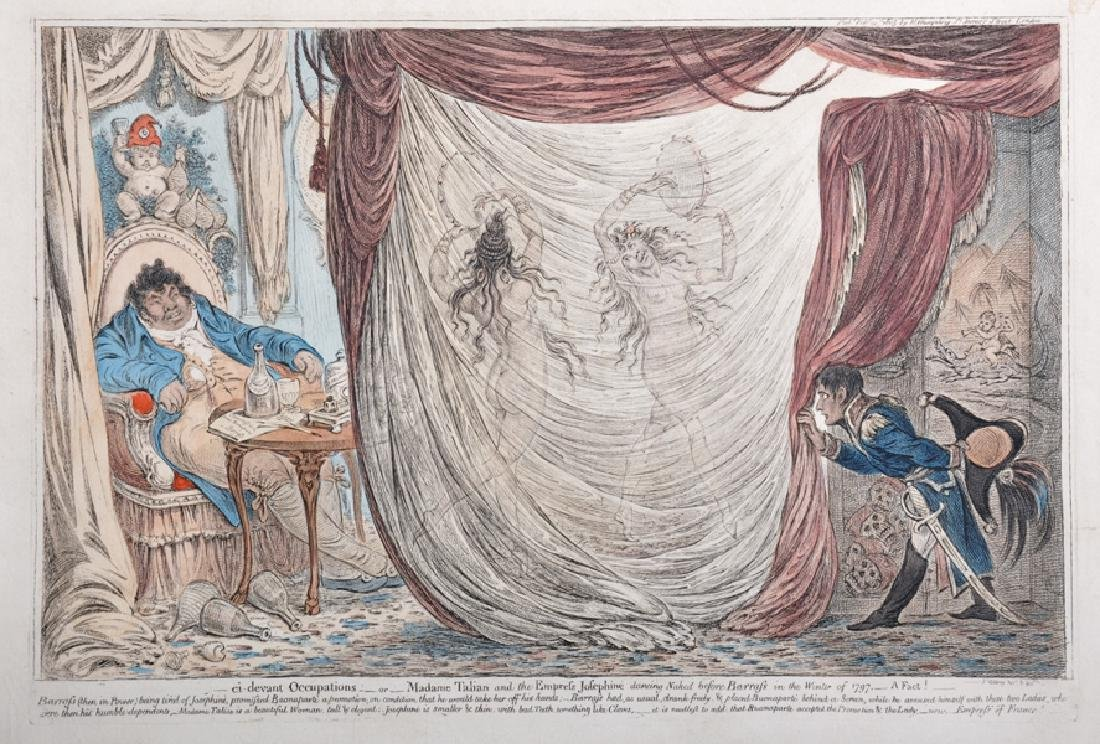 "James Gillray (1757-1815) British. ""ci devant"