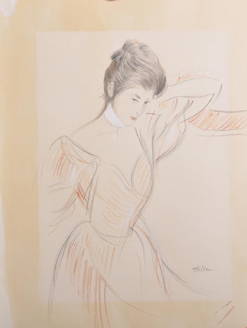 Paul Cesar Helleu (1859-1927) French. Study of a Young