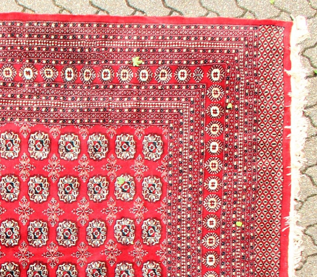 A LARGE BOKHARA CARPET with nine rows of twenty five - 2