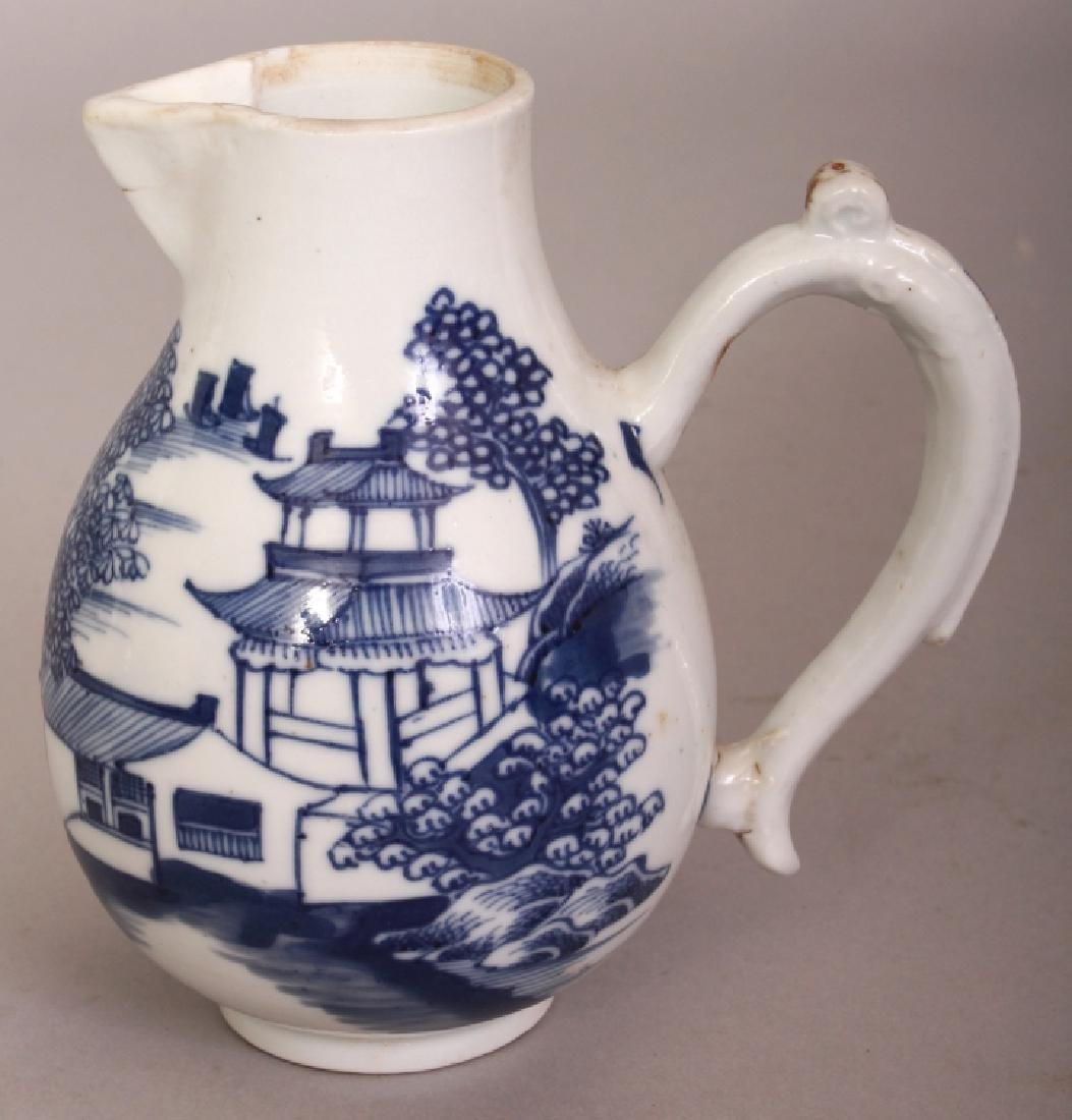 AN 18TH CENTURY CHINESE EXPORT QIANLONG PERIOD BLUE &