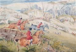 Circle of Henry Alken 18101894 British A Hunting