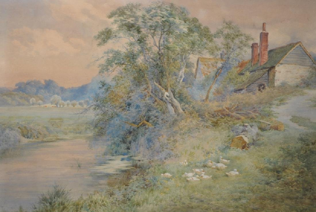 Charles James Adams (1859-1931) British. A Tranquil