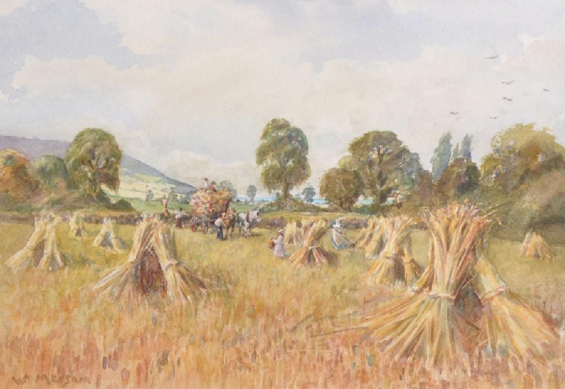 William Frederick Measom (1875-    ) British. A Hay