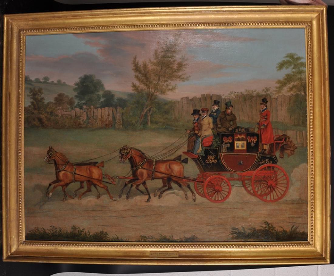"""James Pollard (1792-1867) British. """"The Bristol Mail, - 2"""
