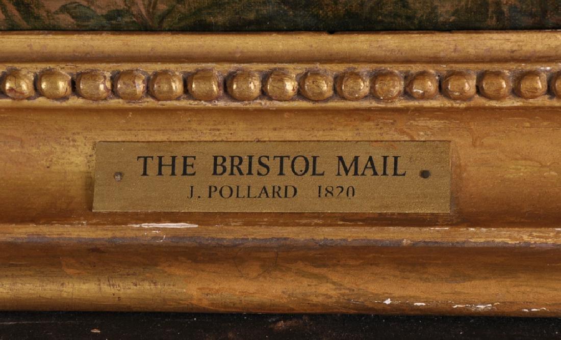 """James Pollard (1792-1867) British. """"The Bristol Mail, - 4"""