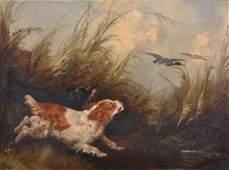 George Armfield (1808-1893) British. A River Landscape,