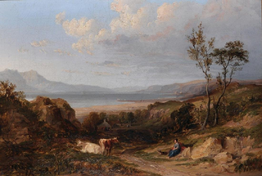 Attributed to David Cox Snr (1783-1859) British. 'A