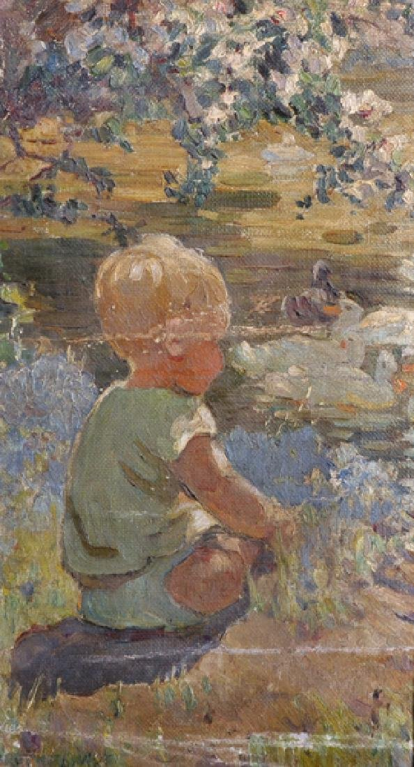 Dorothea Sharp (1874-1955) British. Study of a Young